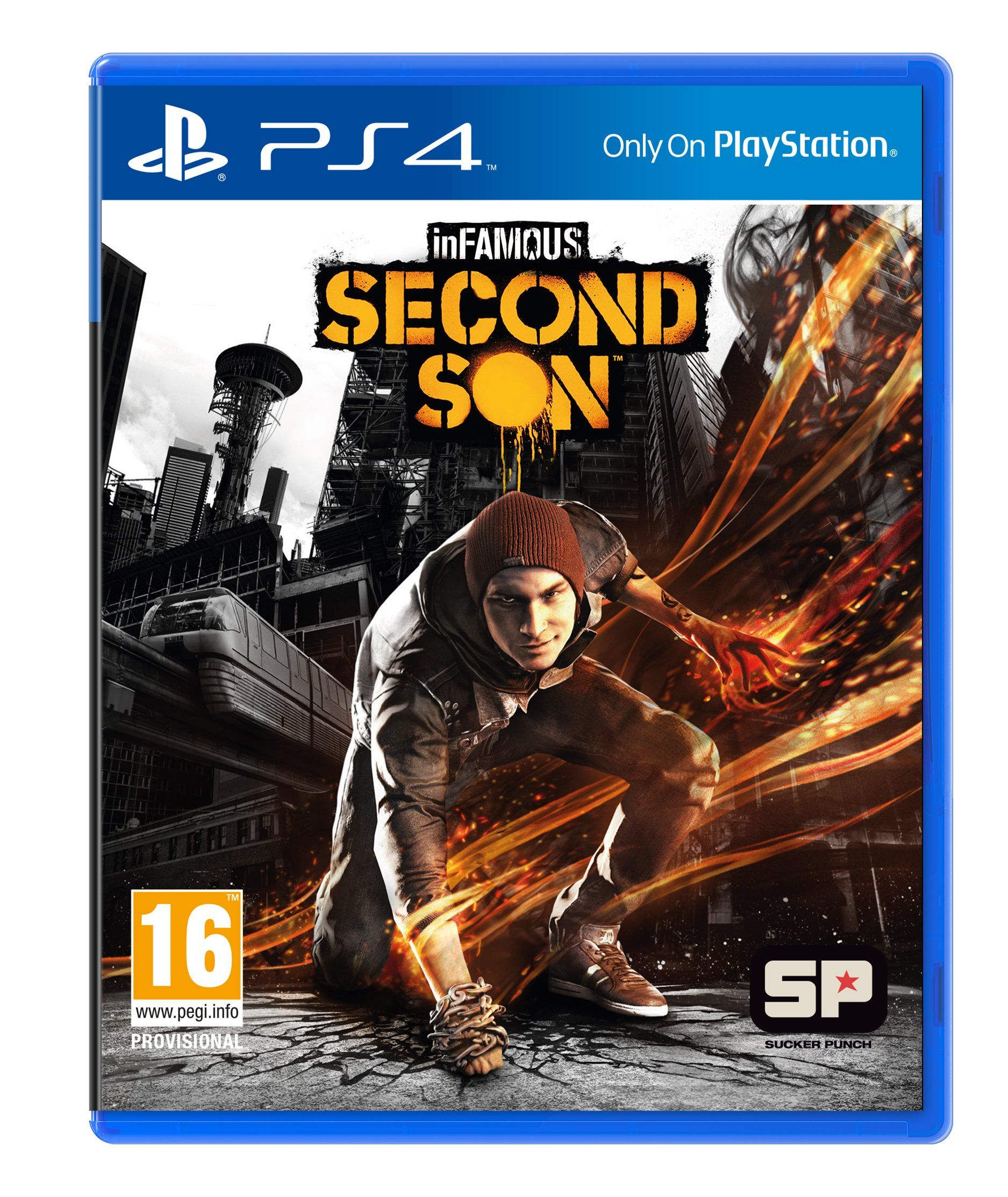 inFAMOUS: Second Son (PS4): Amazon.co.uk: PC & Video Games