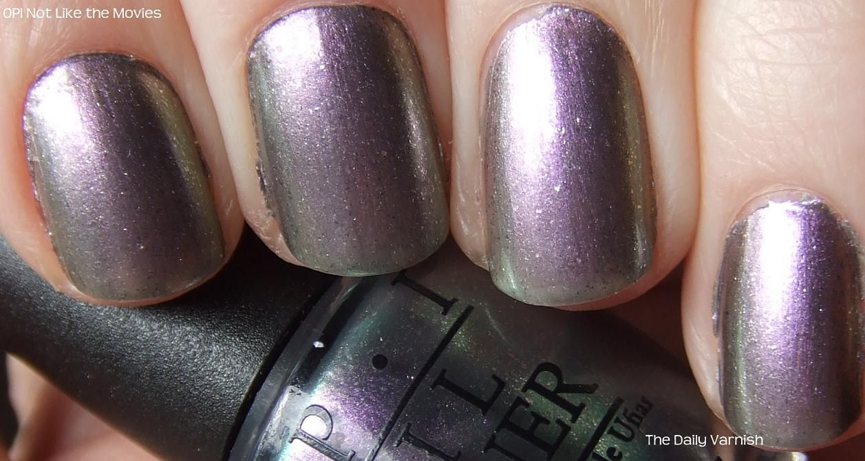 my favorite color of the moment  OPI not like the movies