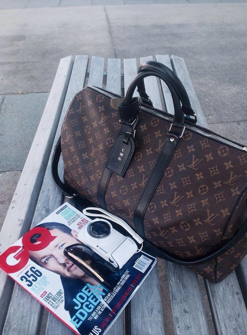 Louis Vuitton Keepall Macassar  Louisvuittonhandbags  2cb5191332d65