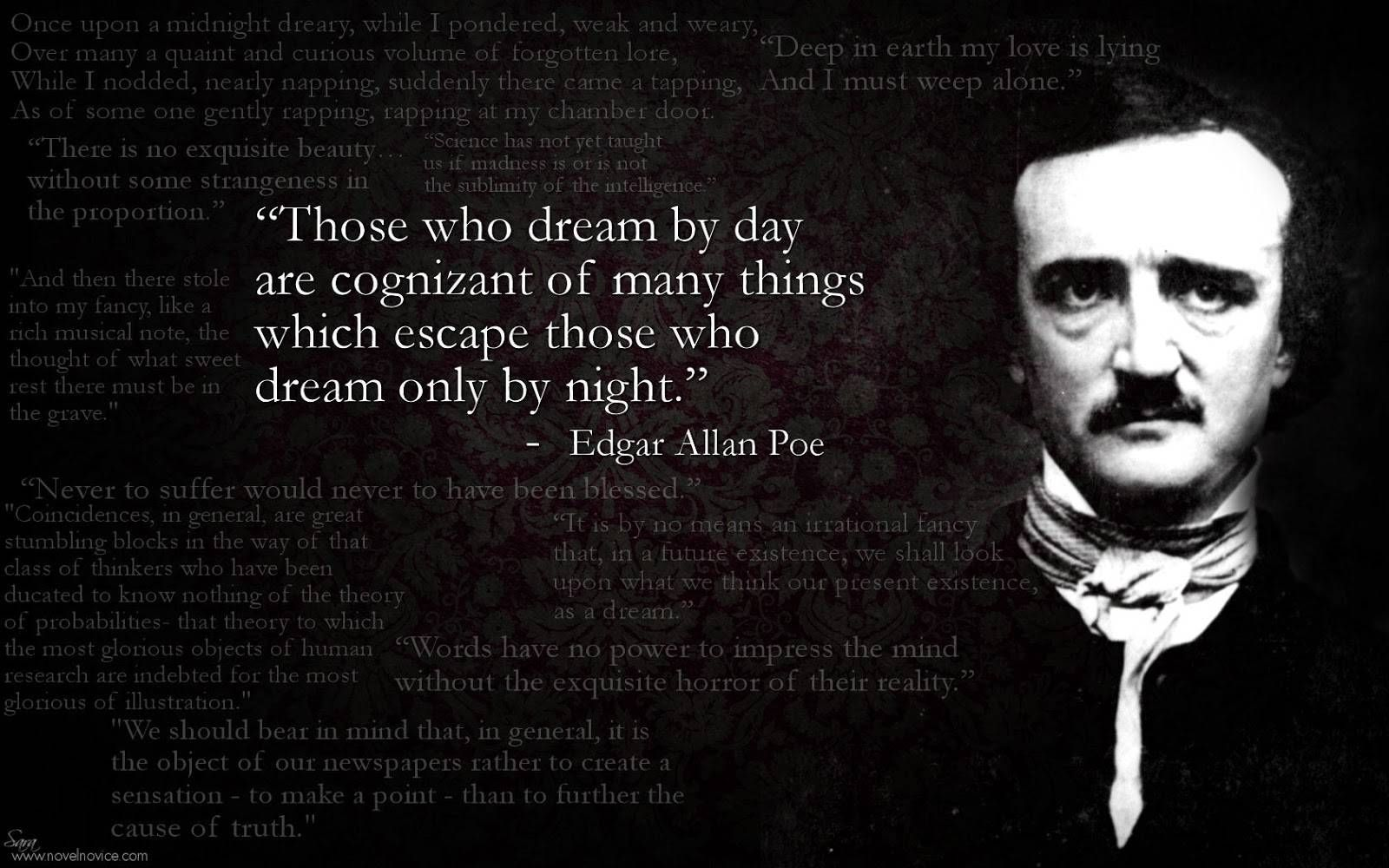 the best romantic work by edgar allan poe The edgar allan poe page at american literature considered part of the romantic movement poe published his first work.