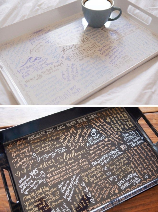Make Your Own Resin Coated Guest Book Serving Tray! | Resin ...