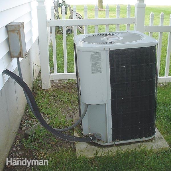 Fix A Sinking Air Conditioner Pad Concrete Pad Concrete