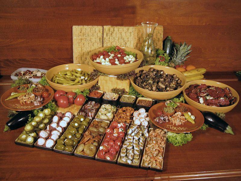 mini buffet maken