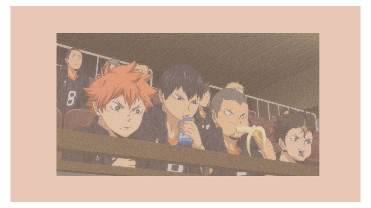 Steal The Look 90 S Anime Girls On We Heart It In 2021 Cute Desktop Wallpaper Cute Anime Wallpaper Cute Laptop Wallpaper Aesthetic nishinoya desktop wallpaper