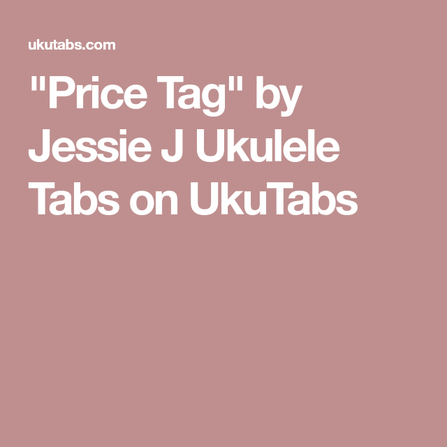 Price Tag\