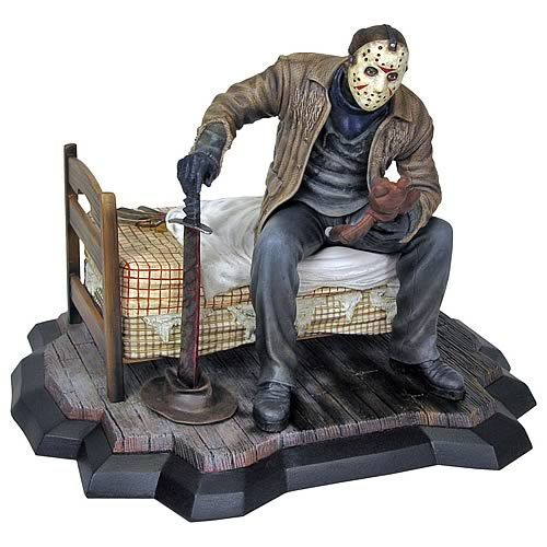 2009 Gentle Giant Freddy Vs Jason Poly Stone Statue With Images