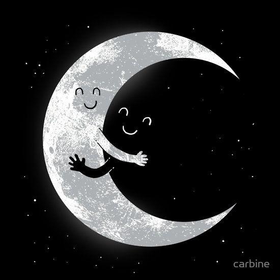 Moon Hug Essential T-Shirt