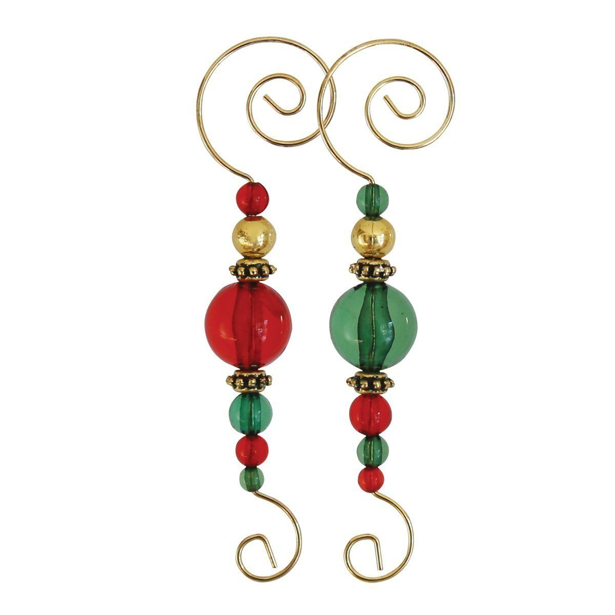 Amazoncom Old World Christmas Christmas Ornament Beaded Hooks 6