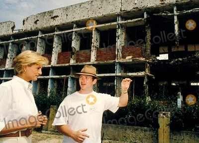 Princess Diana in Angola, 1997