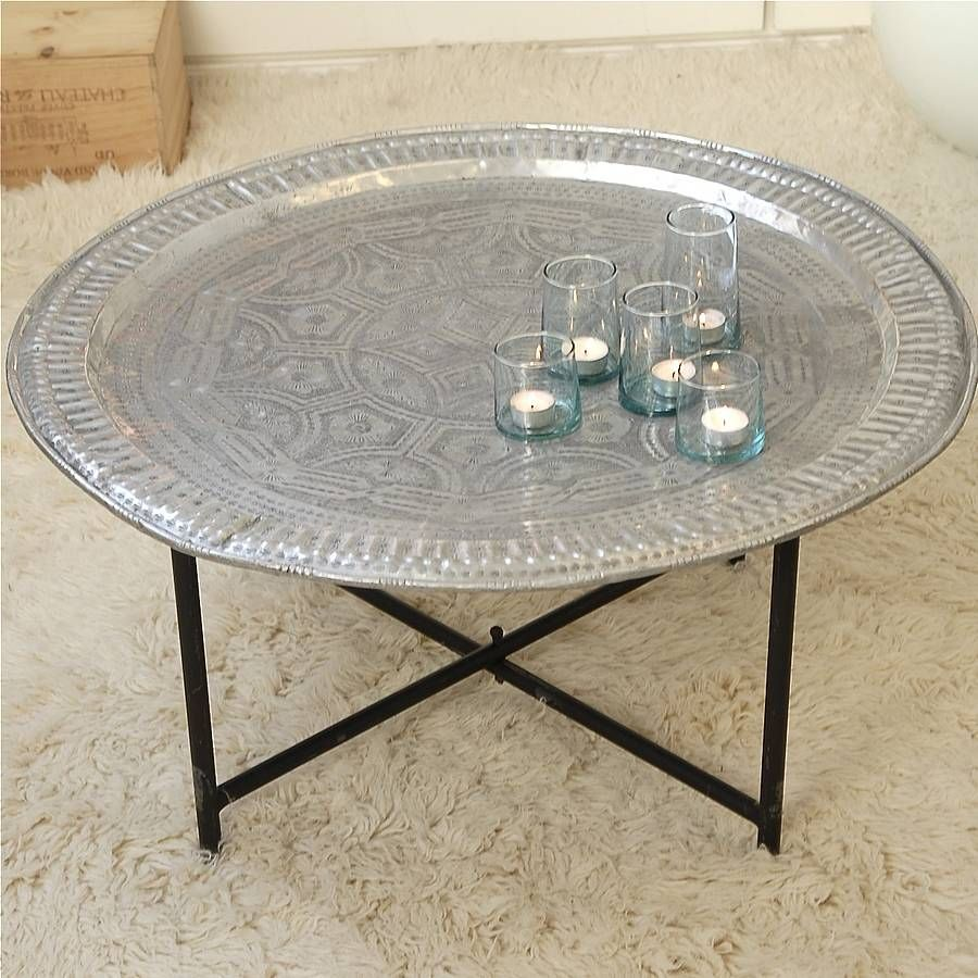 Vintage Tea Tray in 2019 morocco inspiration Table