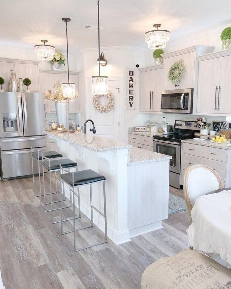 65 best white kitchen design ideas for white cabinets 62 elegant kitchens kitchen design on kitchen remodel not white id=72982