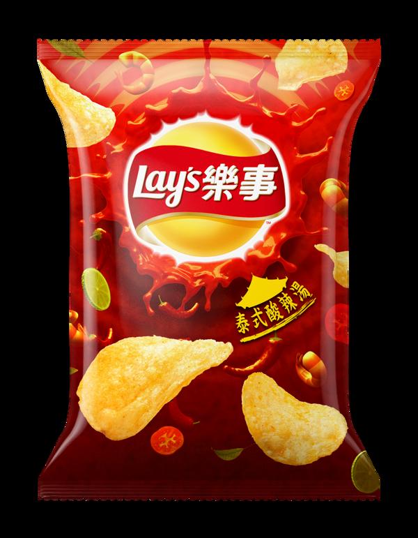 Lay S Potato Chips Package On Behance Makanan Desain Kemasan Kemasan