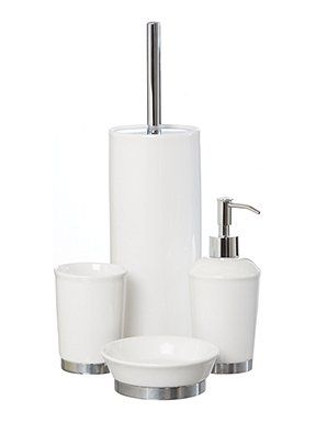 white ceramic bath accessories - White Bathroom Accessories Ceramic