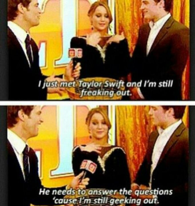 Saw this one too on YouTube. She is just soooo funny! Pretty sure I've seen every jlaw interview like EVER!