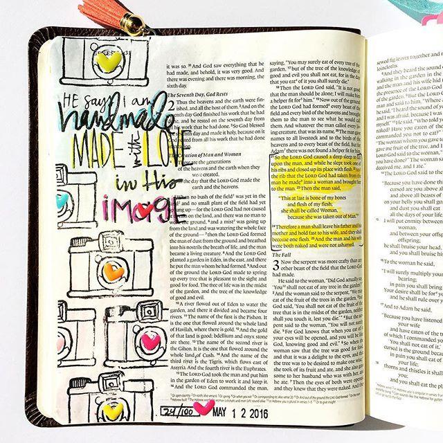 Bible Journaling by Bailey Jean @lovebaileyjean