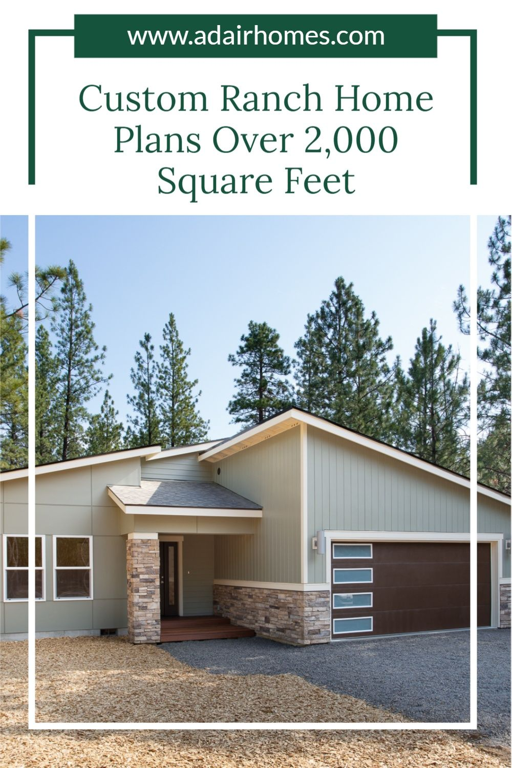 Custom Ranch Home Plans Over 2 000 Square Feet