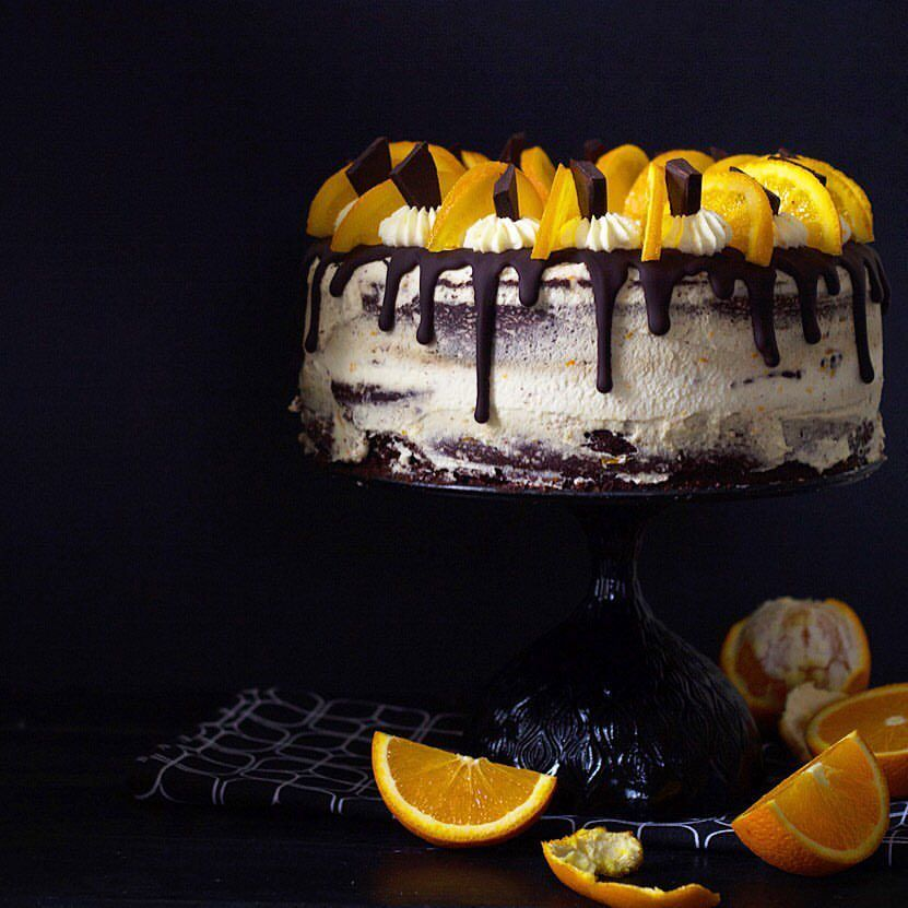 Chocolate Orange Cake on @the_feedfeed https://thefeedfeed.com/lia.stefan/chocolate-orange-cake