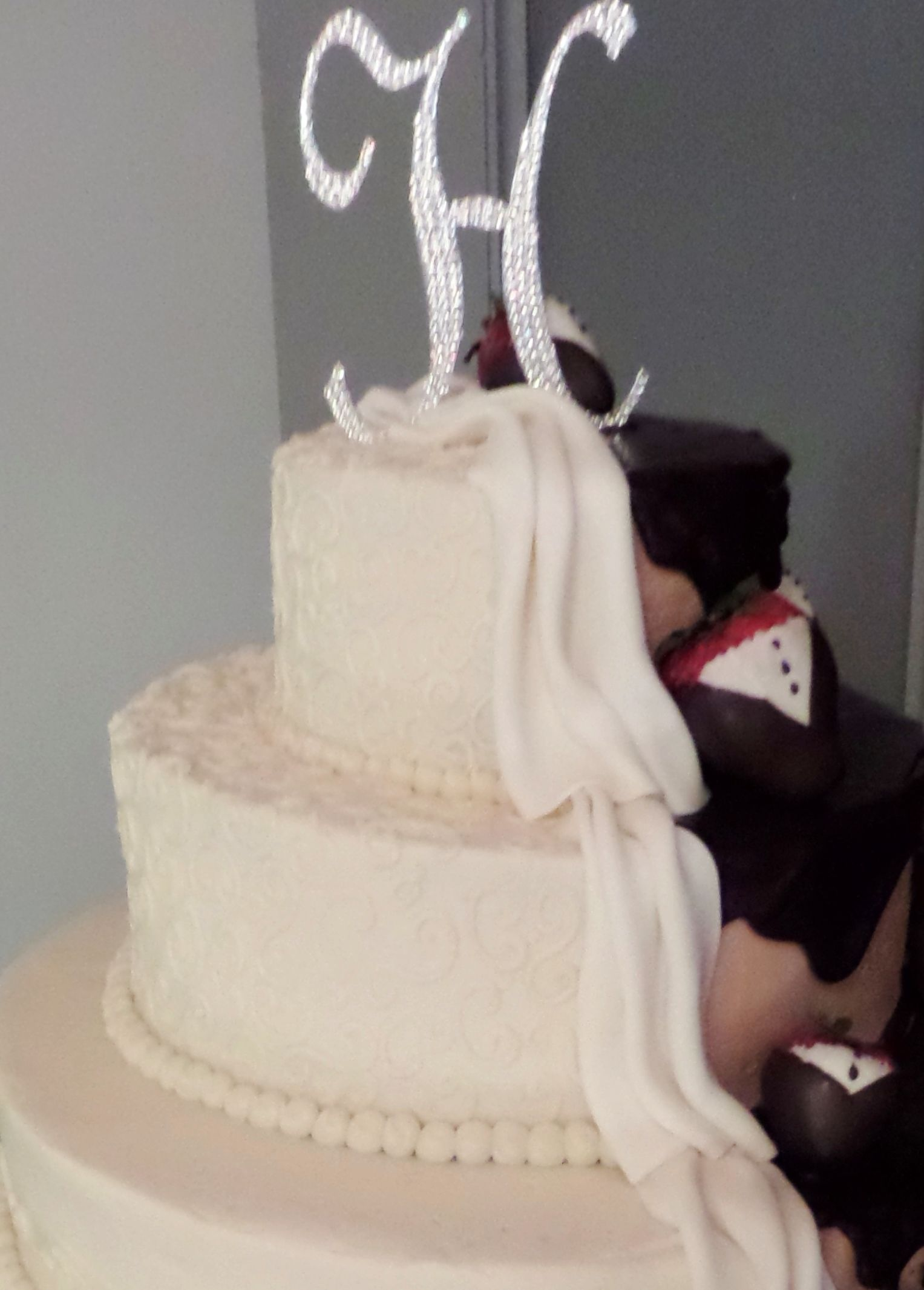 Bride And Groom Cake With Tuxedo Strawberries. Wedding Cake By  Confectionate Cakes, Raleigh NC