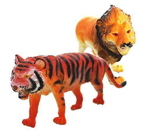 4 Inch Plastic Zoo Animal Model Figure Kids Preschool Toy Gift Zebra