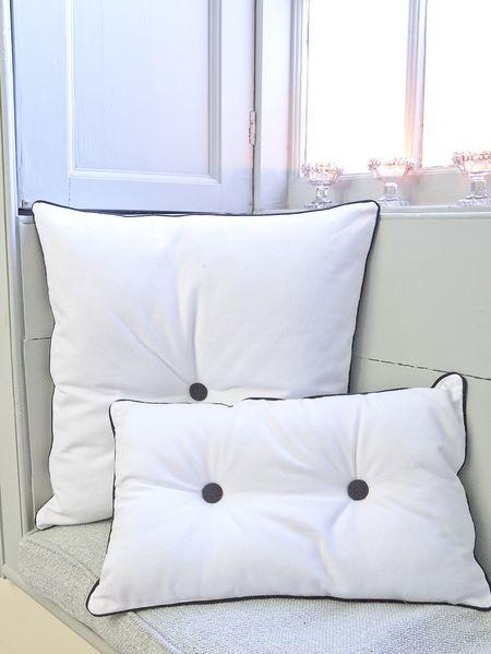 Button Detail Cushions
