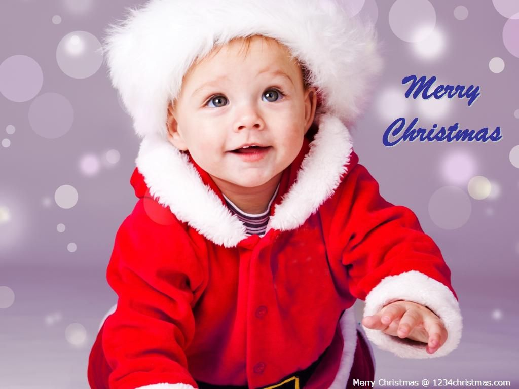 Christmas Baby Wallpaper Boys Cute Girl Pictures