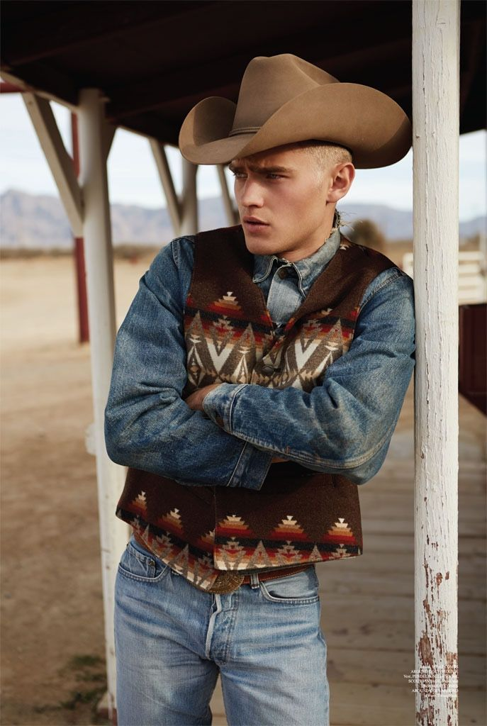 Western Style Bo Develius Embraces Cowboy Fashions For Summerwinter Western Style