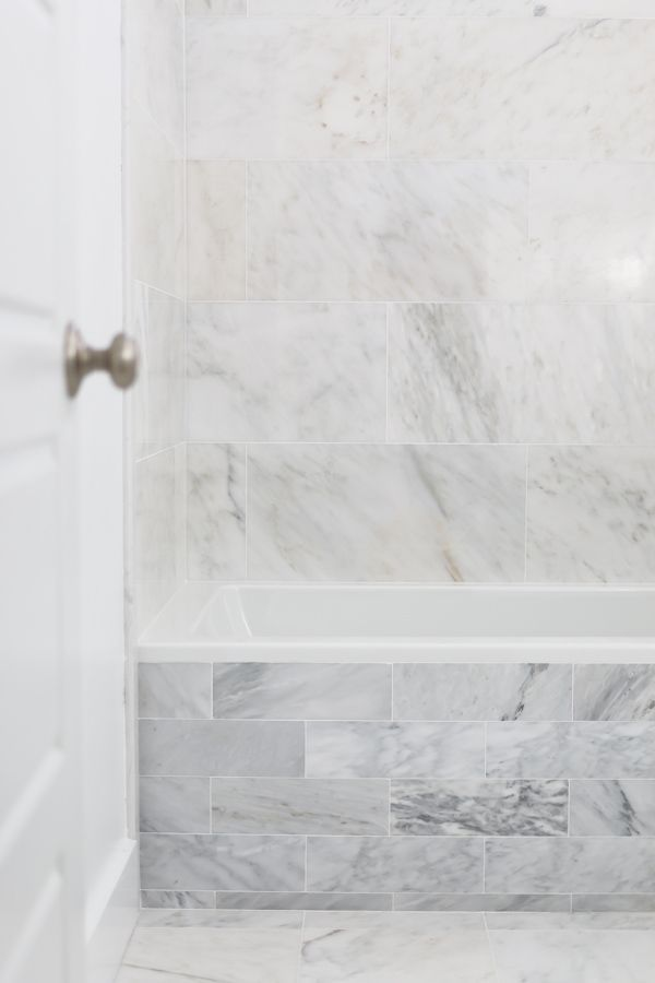 How To Install Marble Tile Bath Tiles Diy Cabinets