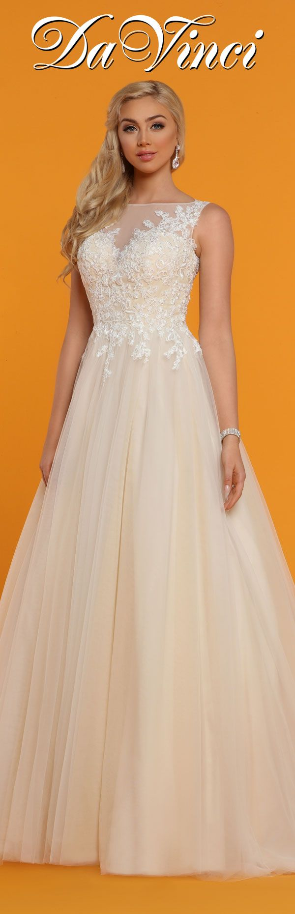 Davinci Bridal Style 50515 Wedding Gown Styles Beautiful Wedding Gowns Bridal Dresses Online