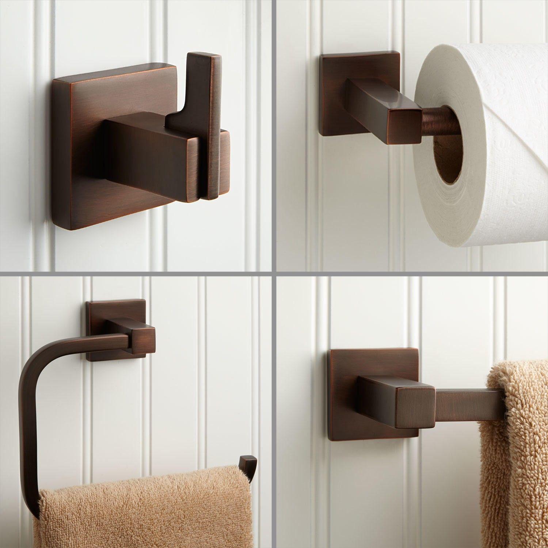 Gentil Ultra 4 Piece Bathroom Accessory Set