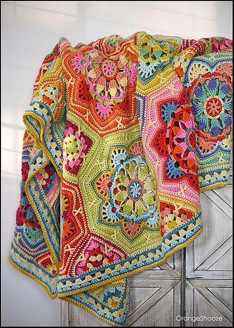 OrangeShooze's Persian Tile / Eastern Jewels Blanket