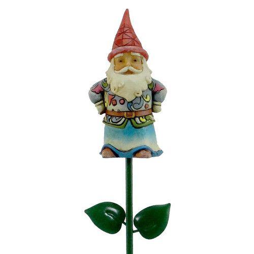 Jim Shore Gnome Plant Stick 4028457 Plants New | eBay