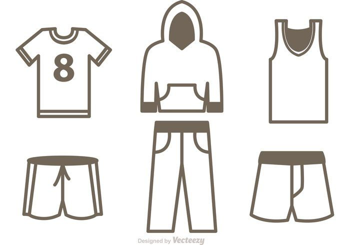 Set Of Sport Jersey Icons Vector - http://dawnanime.com/set-of-sport-jersey-icons-vector-2/?utm_source=PN&utm_medium=wesolo689%40gmail.com&utm_campaign=SNAP%2Bfrom%2BWeLoveSoLo