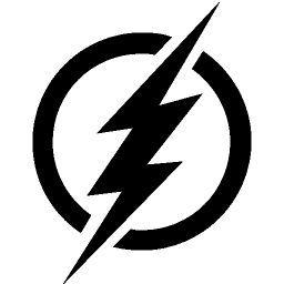 Cinema The Flash Sign Icon The Flash Flash Logo Vinyl Decals