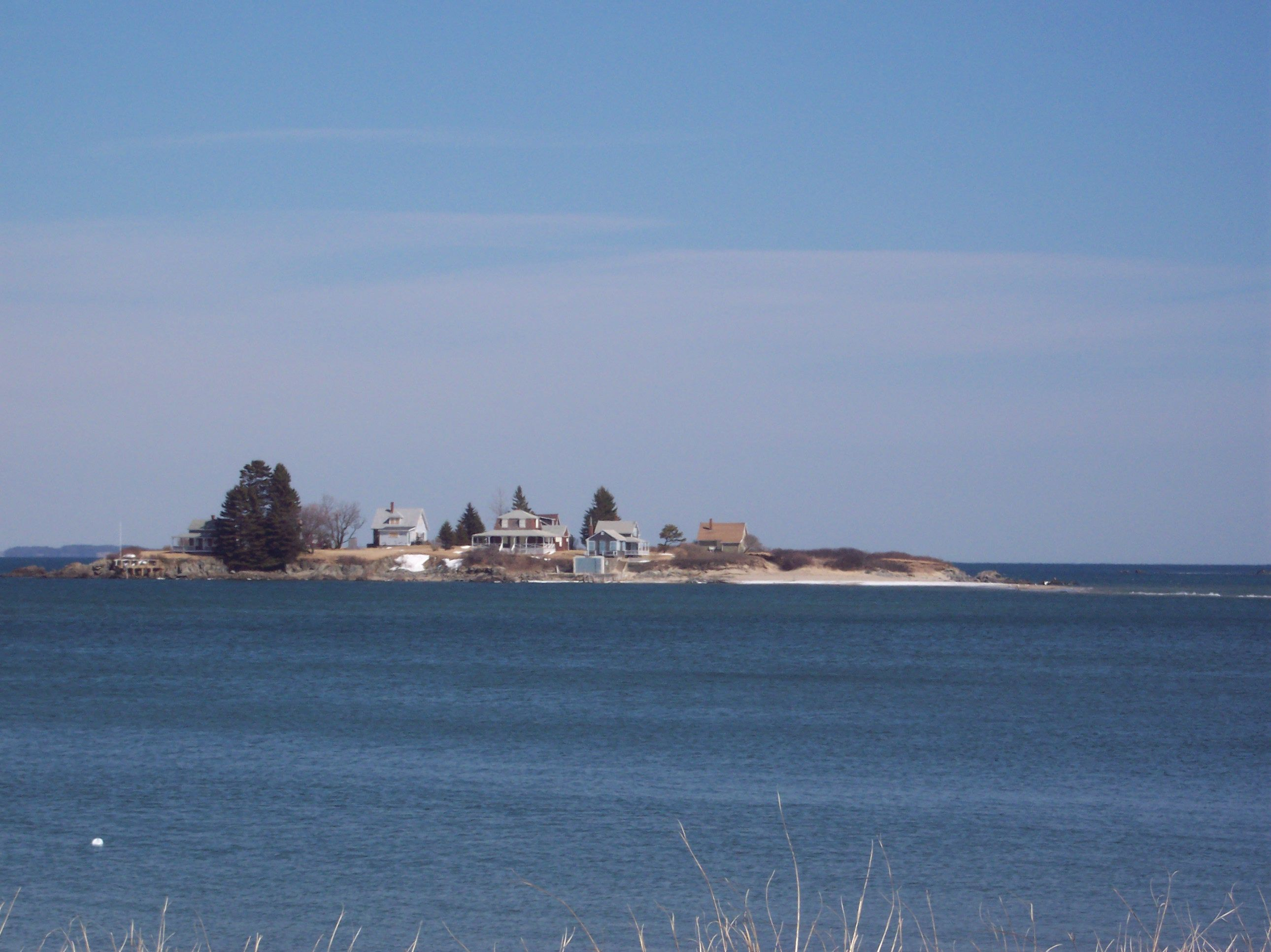 Basket Island At Hills Beach Maine View We Saw On Vacation For Many Years