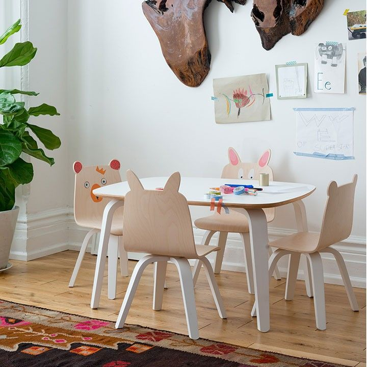 Kids Playroom Table And Chairs bookmark this for 20 modern twists on nursery staples. | baby from