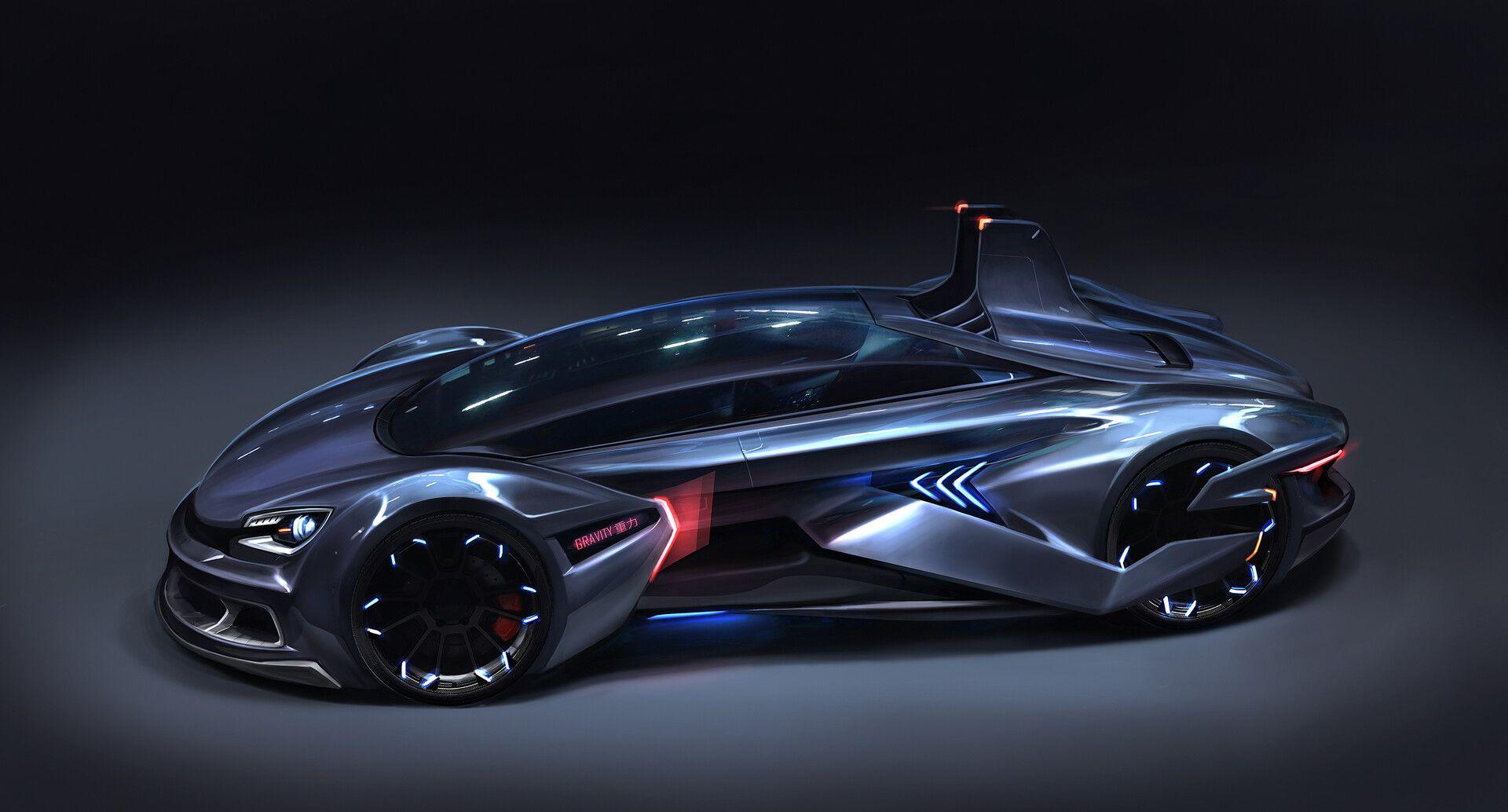 Artstation Gravity Vehicle Design Mustafa Lamrani Future Concept Cars Car Design Vehicles