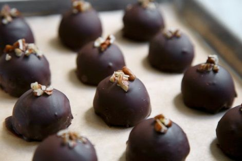 Pecan Pie Truffles -- This New York Times recipe is a keeper