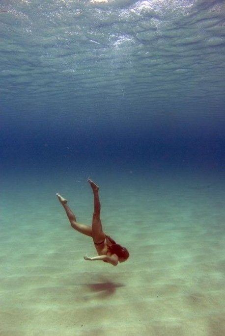 mergulhos...