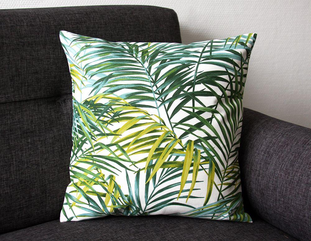 coussin tropical Housse de coussin TROPICAL C   40x40 cm (végétal, jungle) | Jungle  coussin tropical
