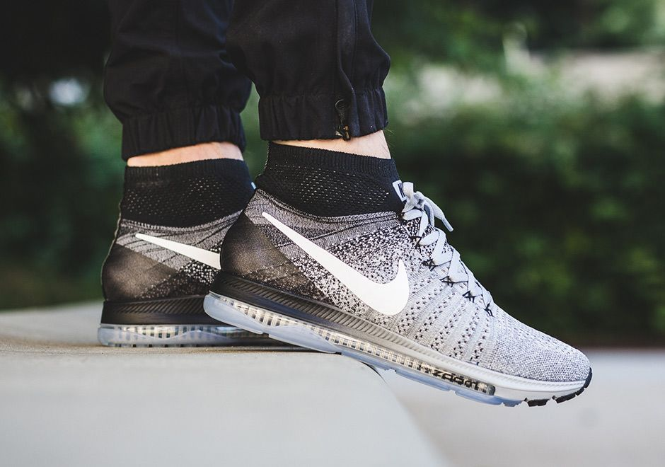 "#sneakers #news The Nike Zoom All Out Flyknit Goes ""Oreo"""