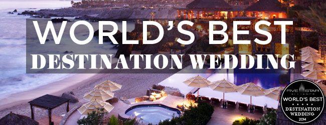 The Worlds Best Destination Wedding Resorts Hotels For 2014 From Five Star Alliance WorldsBestHotels2014