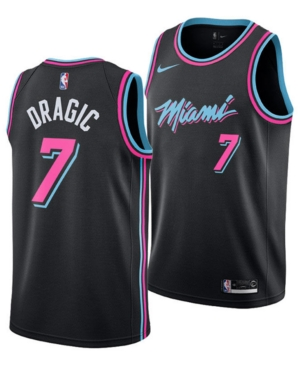 1e0eebbbe390 Nike Goran Dragic Miami Heat City Edition Swingman Jersey 2018