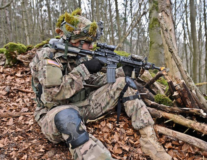 April 13 2016 Pursuing Target Enemy Along Ridgeline American Soldiers Marsoc Marines Army Soldier