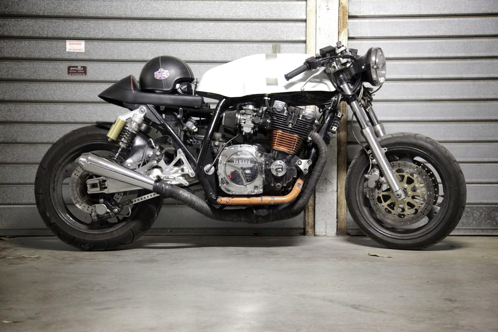 "motographite: YAMAHA XJR ""MANX"" by 100 Cavalli"