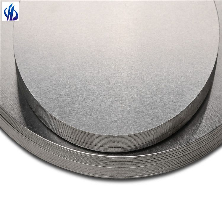 Aluminum 1050 1060 1070 1100 3003 3004 8011 Aluminum Disk Circle Disc Wafer Sheet Plate Lamp Cover Industrial Disk