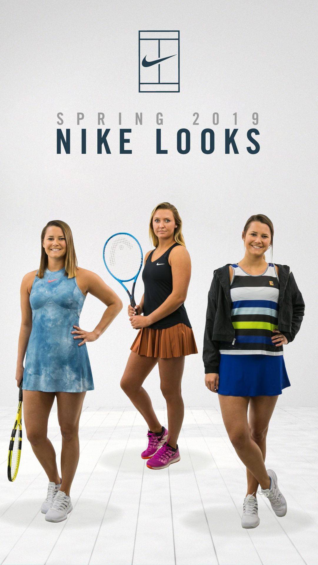 Nike Women S Looks Spring 2019 Tennis Outfit Women Tennis Clothes Nike Looks