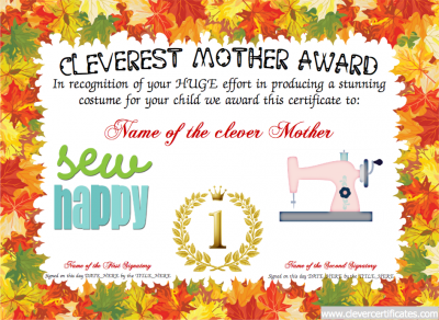 Cleverest mother award free certificate templates you can add cleverest mother award free certificate templates you can add text images yelopaper Image collections