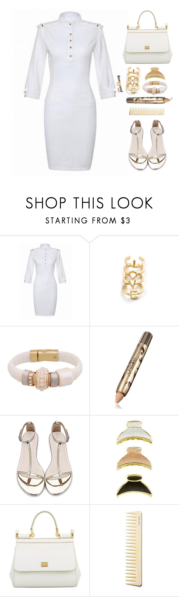 """Banggood"" by simona-altobelli ❤ liked on Polyvore featuring Dolce&Gabbana"