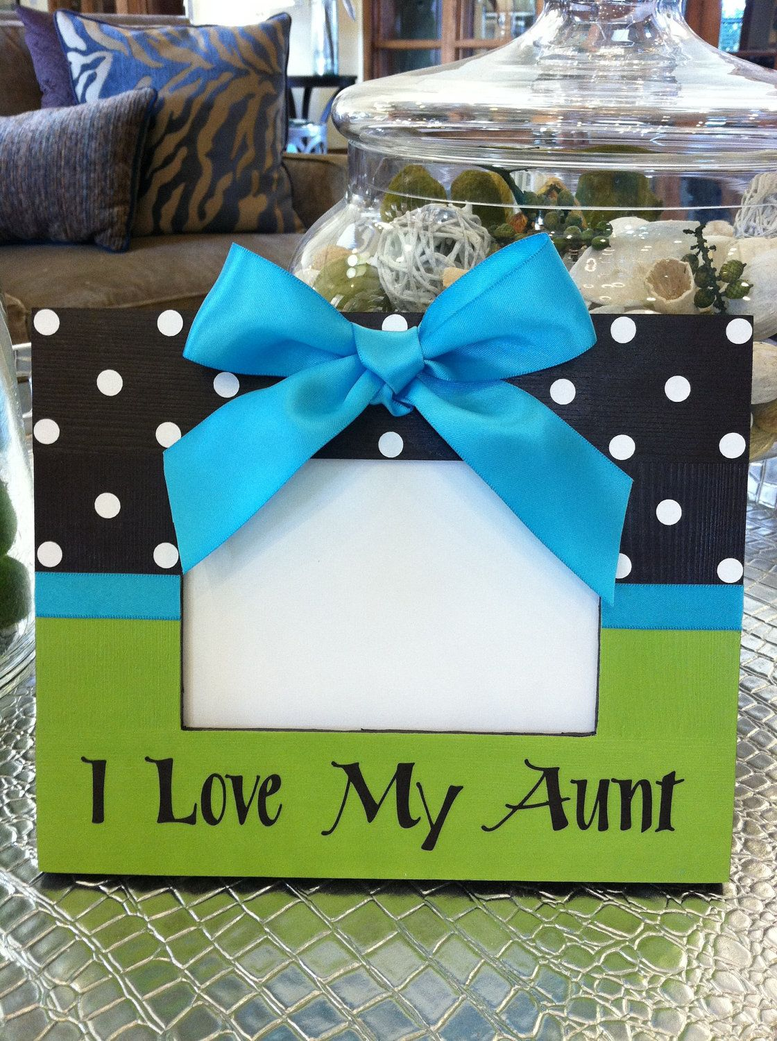 Picture Frame Personalized I Love My Aunt 2400 Via Etsy Diy