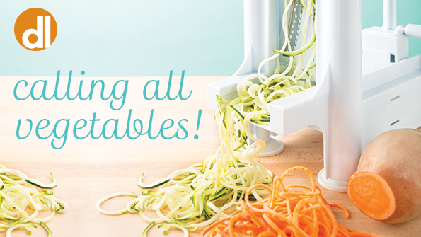 4 smart ways to use your spiralizer | How to make veggie pasta | Recipes content from Delicious Living